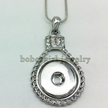 NK068 OEM, ODM snap button jewelry  newest pendant  Necklace(fit 18mm 20MMsnap )(China (Mainland))