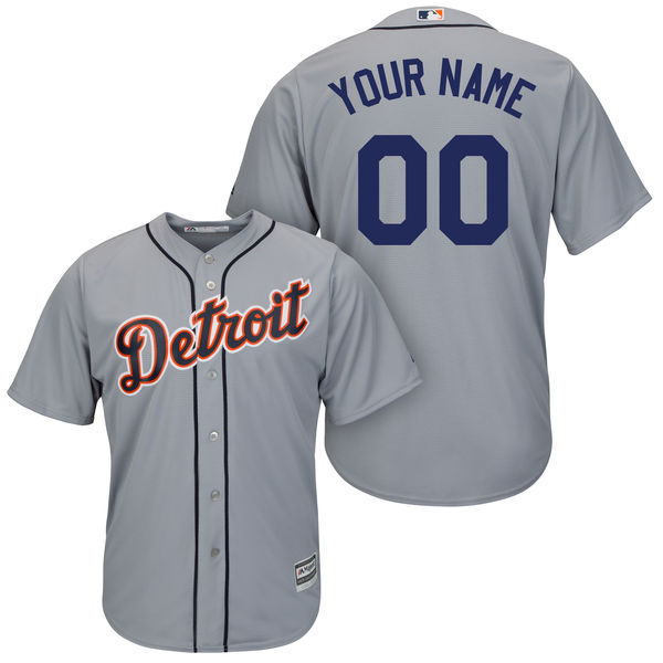 2016 MLB Detroit Tigers Alternate Collection Custom Jersey Cool Base Player Jersey Baseball Jerseys(China (Mainland))