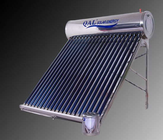 2015 qal hot selling unpressurized solar hot water heater,20 vacuum tubes solar collector(China (Mainland))