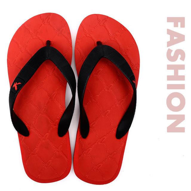Летние мужские пляжные шлепанцы моды случайные плоские сандалии спорт мужской открытый ...