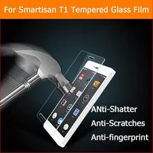 Buy Ultra-thin 0.3mm 2.5D 9H Anti-shatter Tempered Glass film Smartisan T1 Explosion-proof screen protector HD lcd glass films for $6.64 in AliExpress store