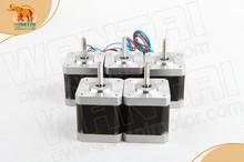 Hot Sale! 5PCS Wantai Nema17 Stepper Motor 42BYGHW609P1 Single Flat 56oz-in 40mm 1.7A 4-Lead ROHZ CE ISO 3D Printer