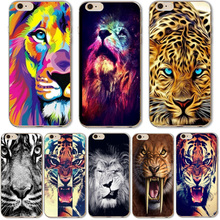 Buy Cute Animal Cheetah Tiger Lion Cases iphone 6 6S 7 Samsung Galaxy A3 A5 2016 Xiaomi Redmi Hongmi 3S Soft Silicone Back Cover for $1.39 in AliExpress store