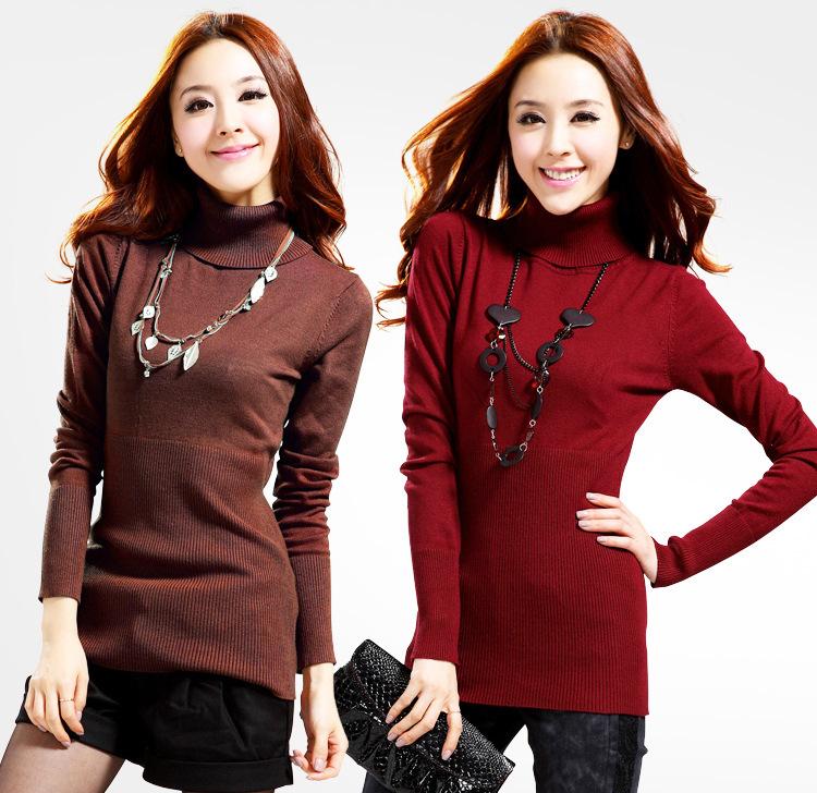 Sweater High Collar High Collar Sweaters