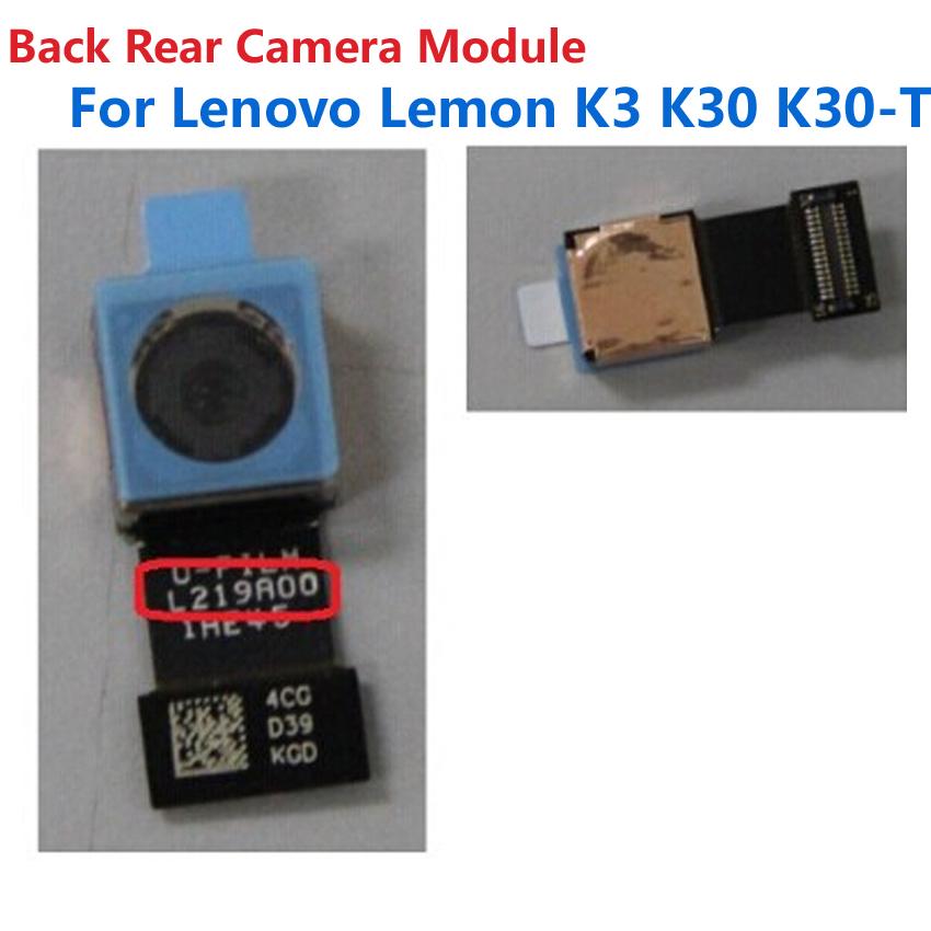 Original New Big Back Rear Camera Module Flex Cable For Lenovo Lemon K3 K30 K30-T Phone Repair Replacement Parts Free shipping