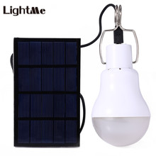 Buy Lightme Outdoor LED Bulb 5V 15W 130LM Solar Power LED Light Garden Lamp Portable Lamps Solar Panel Light Fishing for $6.19 in AliExpress store