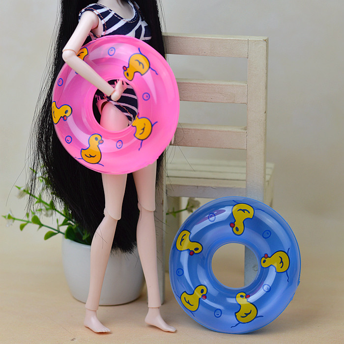 Swim Ring , Totally different Kinds Vogue Doll Life Ring Equipment For Barbie Kurhn Ken Doll Reward New 2016 Toys for Women 1 computer