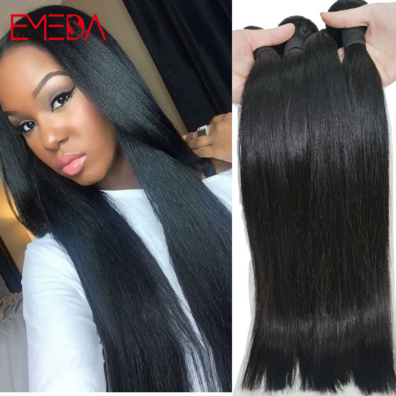 Spring Sale High Temple Indian Virgin Straight Hair 10 Bundles/lot 1KG Cheap 7a Unprocessed Virgin Hair Indian Remy Human Hair(China (Mainland))