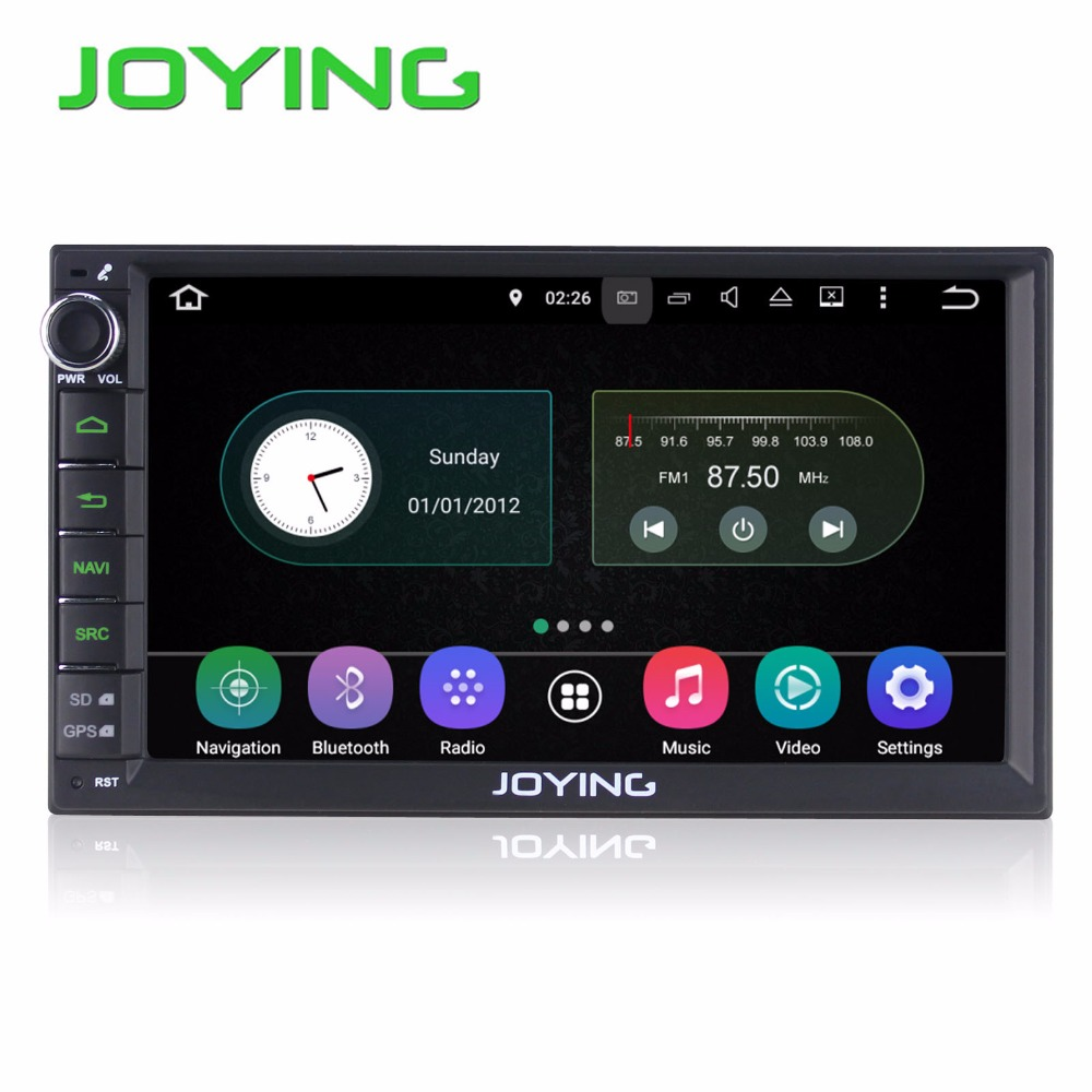 Joying 2016 Lastest Android 5.1 New UI Quad Core 1024*600 Car Stereo GPS Navigation Head Unit Support DAB+ OBD DVR Camera Radio(China (Mainland))