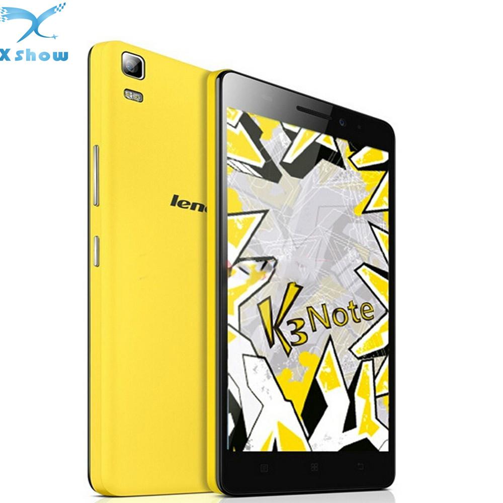 "original brand new Lenovo K3 Note K50 T3s Original 5.5""1920x1080 MTK6752 Cell Phone Android 6.0 2GB RAM 16GB GPS 13.0MP(China (Mainland))"