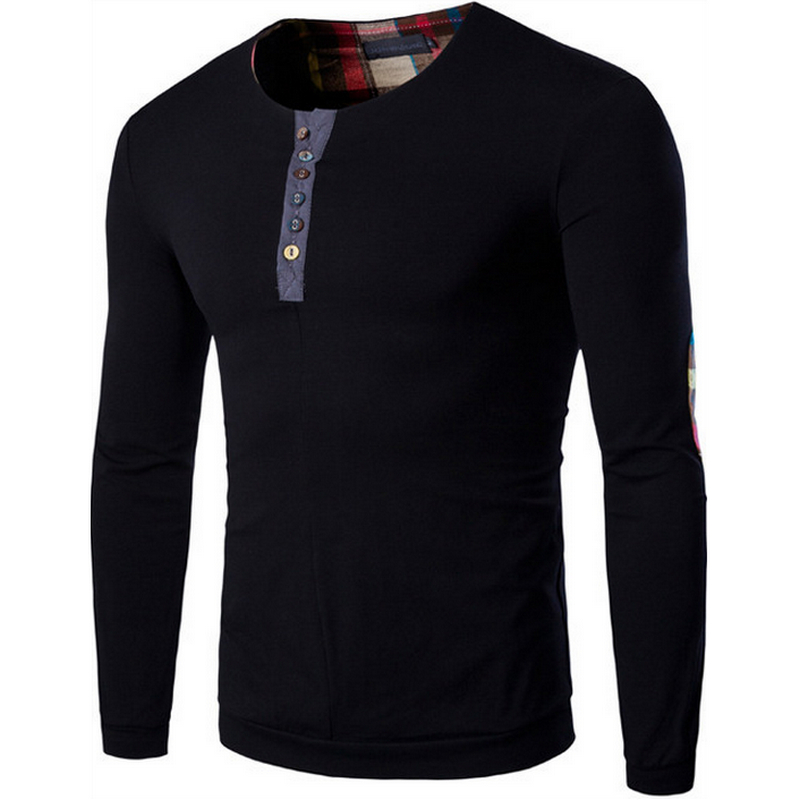 The new 2016 high quality long sleeve t shirt in europe for Good quality long sleeve t shirts