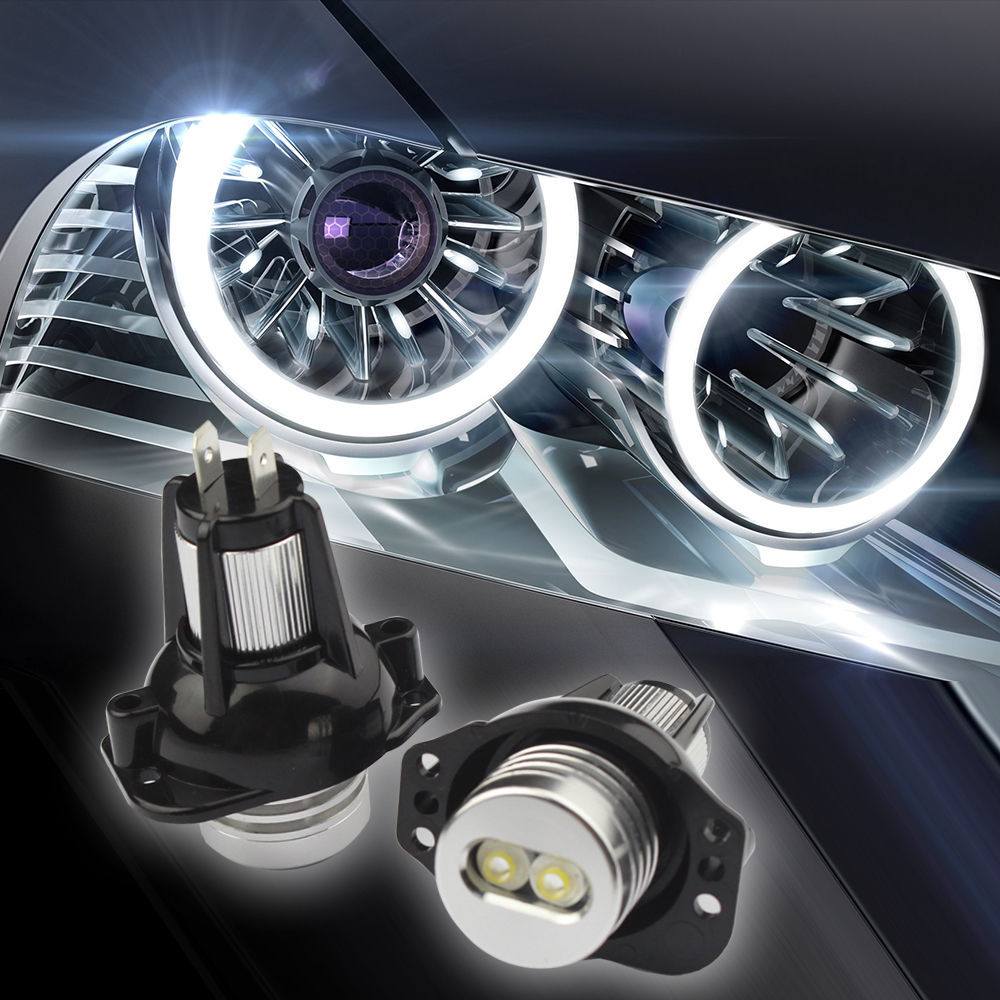 Great Bargain!!! High Power LED Angel Eyes Halo Ring Marker Bulbs Marker Bulbs Headlights For E90(05-08) E91(05-09) E31(China (Mainland))