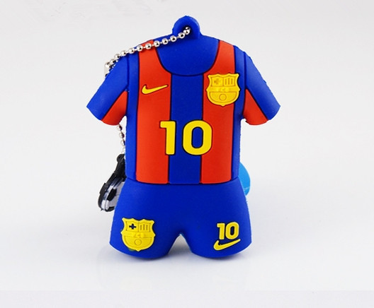 Fashion 100% Real 16GB World Cup Football Star 10 NUMBER MESSI model 2.0 Memory Stick usb flash drive toy Gift(China (Mainland))