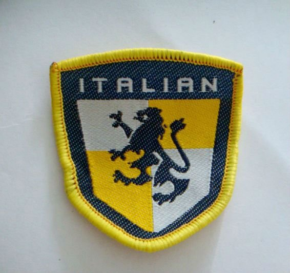 Wholesale Italia Football Team UEFA Sewing On embroidery patch jersey soccer Patch Crest Sport Patch Badge(China (Mainland))