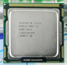 Original  i5-760 Processor (2.8 GHz/ 8MB Cache/ Socket LGA1156/ 45nm) Desktop i5 760 CPU