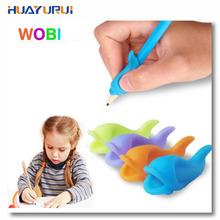 Dolphin fish Wobi child children pencil Wobi students hold a pen writing posture correction with