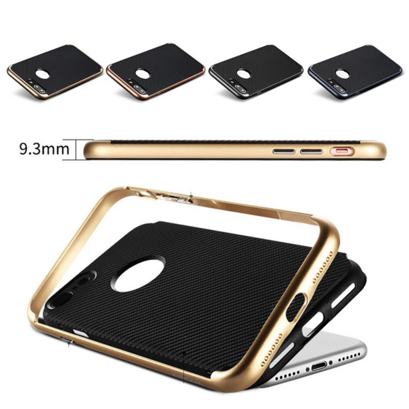 Shenzhen Black/Gold TPU Phone Case For Iphone 7/7Plus Fashion Luxury Back Protection Cover With Factory Price(China (Mainland))