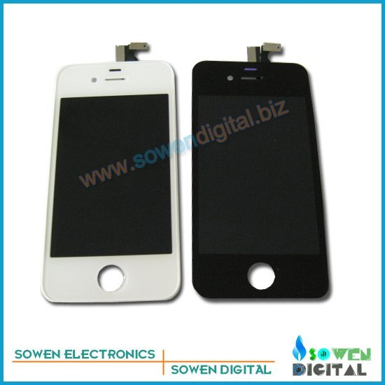 for iPhone 4 4G 4S LCD Display+Touch Screen Digitizer +Frame assembly full set,GSM and CDMA,Gurantee High Quality