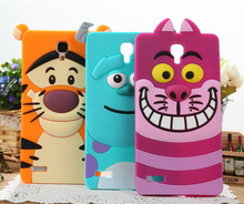 Monsters University Cat Tiger Sulley 3D Cute Cartoon Soft Silicone Case back cover xiaomi 3 4 redmi red rice 1s note - Shenzhen HXH Technology Co.,Ltd. store