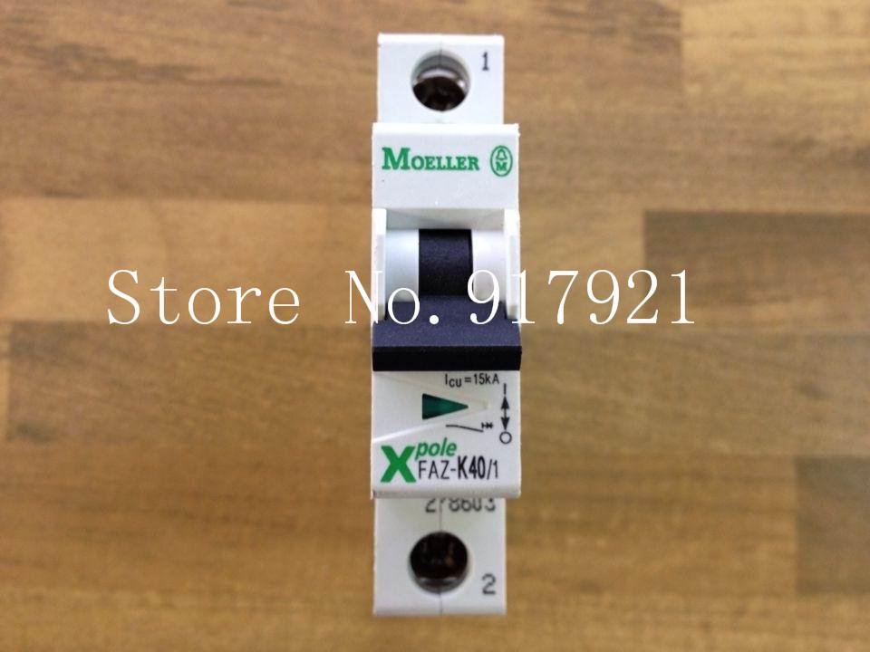 [ZOB] MOELLER Muller FAZ-K40/1 breaker 1P40A genuine original  --10pcs/lot<br><br>Aliexpress