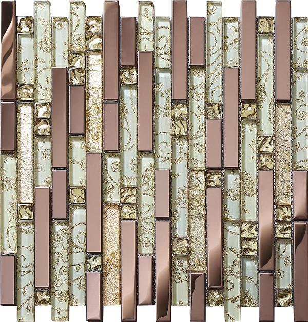online kaufen gro handel metall fliesen mosaik aus china metall fliesen mosaik gro h ndler. Black Bedroom Furniture Sets. Home Design Ideas