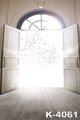 Top Quality Muslin Fabric Wedding Sunshine Door Scenic 5 7ft Digital Backgrounds Photo Studio Props Vintage