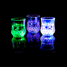 Cup Lamp For Birthday Special Gift Novelty Light Colorful Night Lamp PMMA Material(China (Mainland))