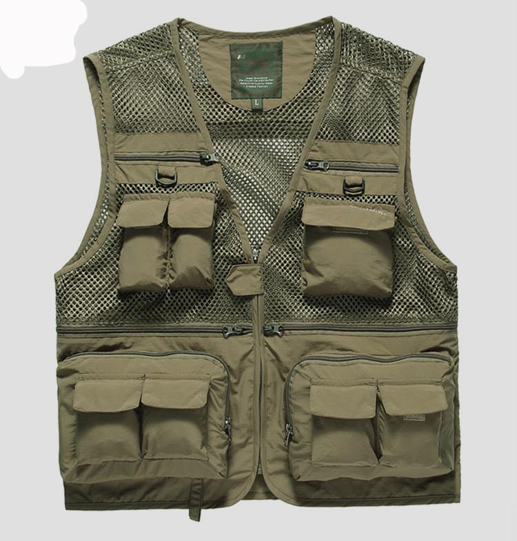 New 2014 fly fishing vests for men Brand men's clothing ...