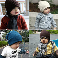 """B39 """"Hot Sell Baby Infant Toddler Children Beanie Hat Warm Winter Cool Boys Girls Cap  free shipping"""
