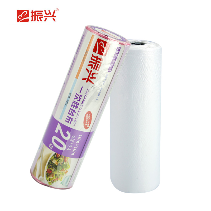 Zenxin waterproof leak thickened hotel for domestic disposable tablecloth 20 Zhang loaded wedding banquet picnic tablecloth(China (Mainland))