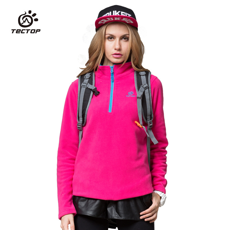 New winter   tectop   WOMEN   Polar Fleece   Fleece   4 color options   Elasticity   Breathable   Keep warm<br><br>Aliexpress