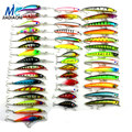 2016 Minnow JIADIAONI 43pcs lot Fly Fishing Lure Set China Hard Bait Jia Lure Wobbler Carp