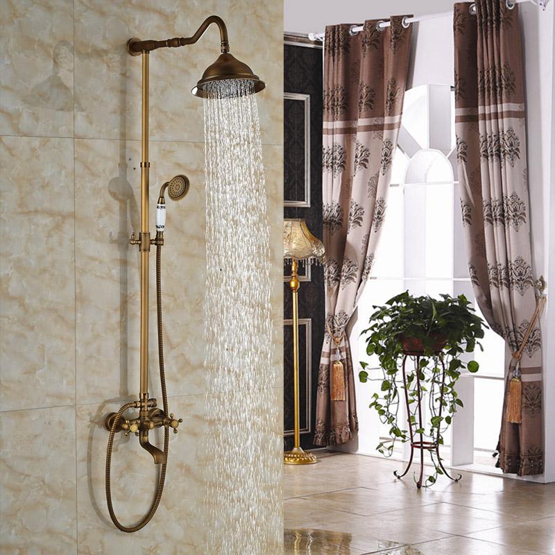 Grifos de la ducha al aire libre de alta calidad compra for Grifo ducha antiguo