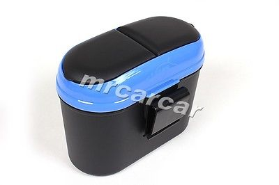 Free Shipping Auto Car Truck Mini Trash Can Storage Unit Garbage Box Cargo Organizer Wastebin(China (Mainland))