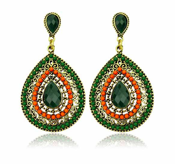 Free Shipping Europe and the United States act the role ofing is tasted Water droplets form retro earrings Speed sell hot(China (Mainland))