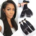 7A Grade Malaysian Straight Hair 3pcs Lot Malaysian Virgin Hair Straight Hair DHL Free Shipping Human
