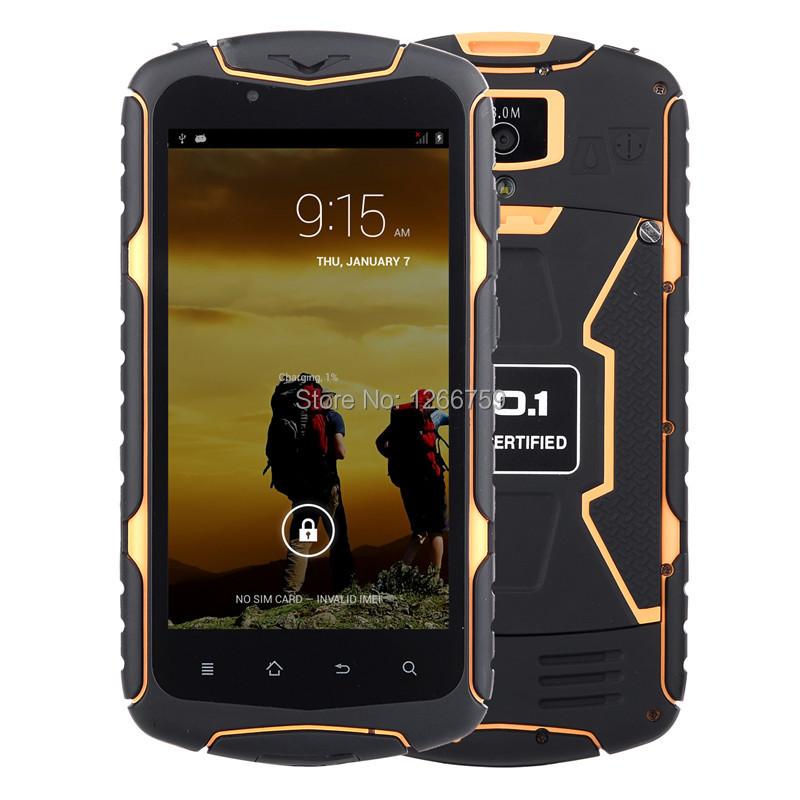 "Original NO.1 X1 X-Men 3300mAh 5"" MTK6582 Quad Core 1GB RAM 8GB ROM GPS 3G smartphone IP68 Waterproof Dust Proof Rugged Phone(China (Mainland))"
