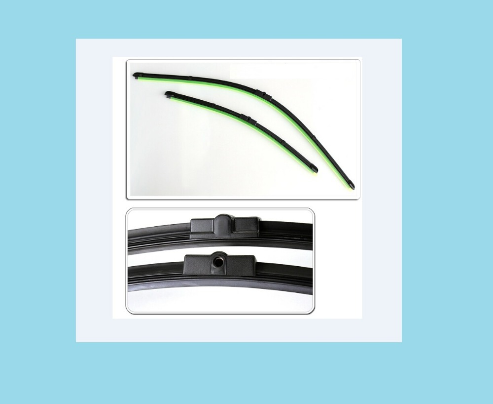 Car wiper blade Ford Focus C-Max 2003-2007models,car accessories, , Bracketless windscreen blades,2pcs,19 inch+26 inch - Connection of the sea store