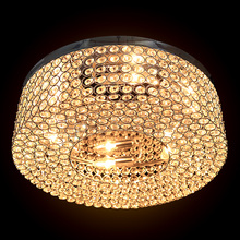 Modern E12 Round Shape Room Bedroom Living Room Crystal Chandeliers LED Light New 22(China (Mainland))