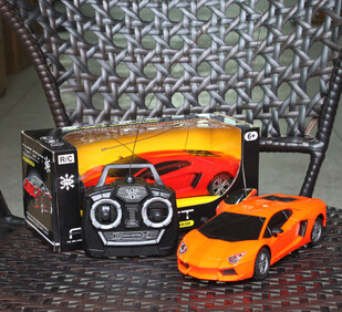 Best selling kids toys electric control car with shine lighting with plastic material which is bset gifts for boy kids(China (Mainland))