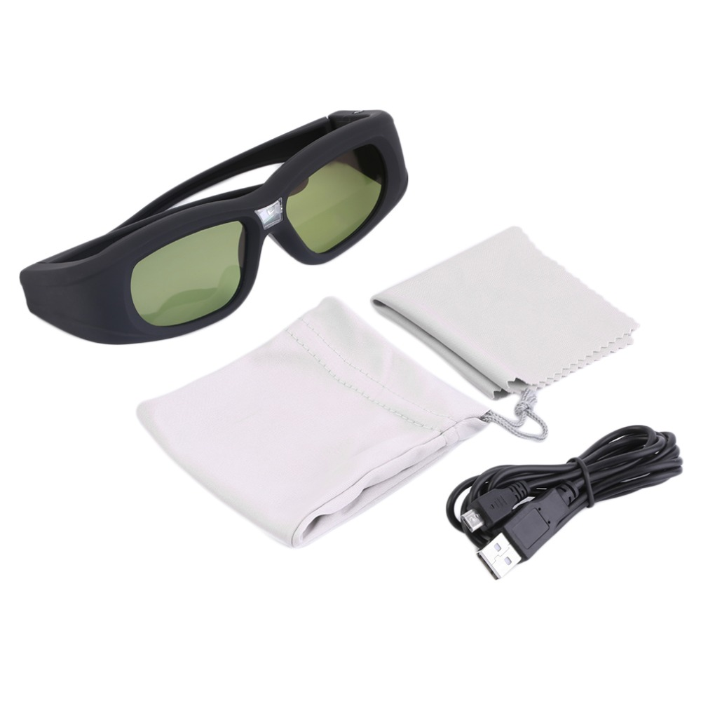 Active Shutter 3D Glasses Universal Rechargeable IR Bluetooth 3D Glasses For Son