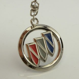 Free shipping! 3D badge/logo car keyring/keychain/keychains/key chain with gift box for 20 PCS  NO 34