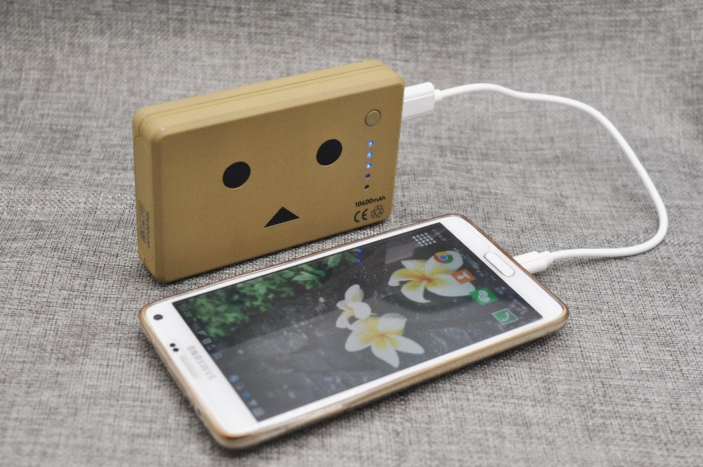 10400mAh Danboard Power Bank Yotsubato Danbo External Battery Pack Power Plus for Mobile Phone Cartoon Powerbank Gift Power Plus