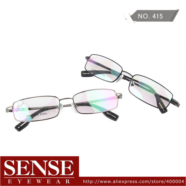 Holiday Sale New Fashion Free Shipping Men High Quality Metal Full Frame Optical Eyeglasses