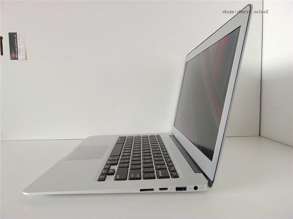 13 3 Metal Case Laptop Computer 8GB DDR3 RAM 256GB SSD In tel Celeron 2957u 1