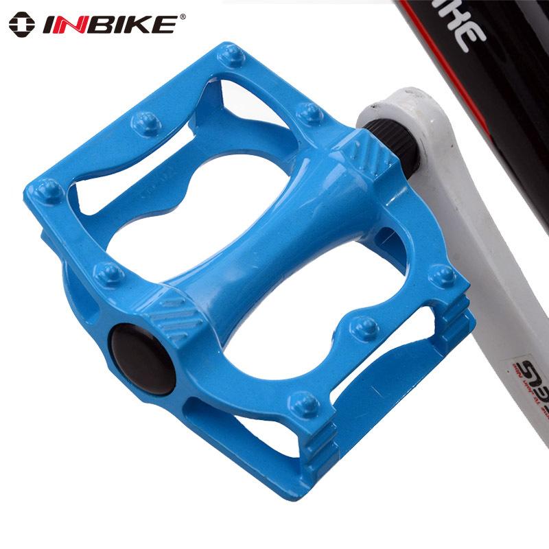 Inbike 1 Pair Bike Pedal Bicycle MTB BMX Road Bike Pedals Skidproof Untralight 200g 12*10*1.5cm 5 Colors Bike Accessories<br><br>Aliexpress