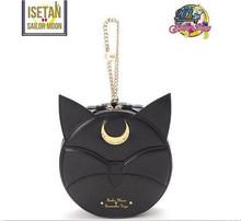 Cheap!New Summer Limited Sailor Moon Chain Shoulder Bag Ladies Luna Cat PU Leather Handbag Women Messenger Crossbody Small Bag(China (Mainland))