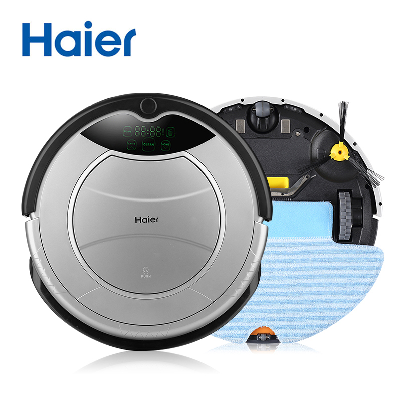 Haier Pathfinder Vacuum Cleaner Robot,Wet & Dry,Automatic Charging & Sweeping,Smart Cleaning,robot aspirador house Cleaner(China (Mainland))