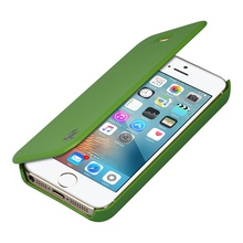 Jisoncase For iPhone SE Case PU Leather For iPhone 5s / 5 Luxury Brand Anti-knock Flip Cover(China (Mainland))