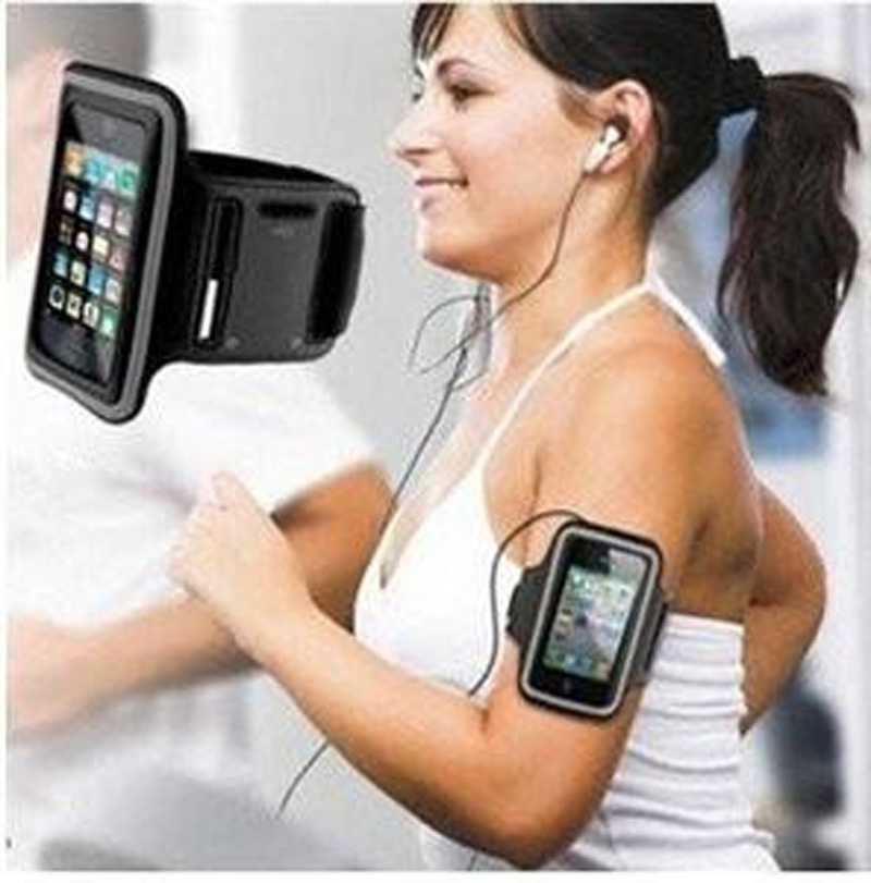 Outdoor Cycling Adjustable Sports Running Jogging Gym Armband Arm Band Case FOR Samsung GALAXY S5 Mini Wholesale 4.5 Inch